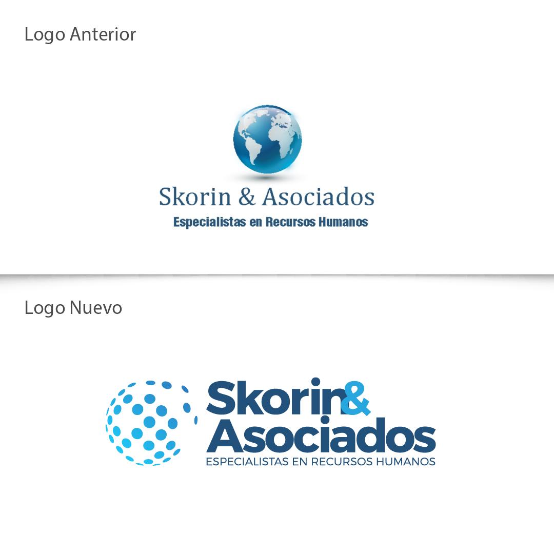 Rediseño Logo Skorin y Asociados
