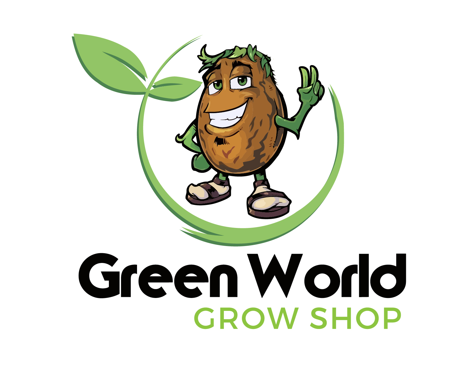 Logo Green World Grow Shop